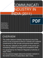 Telecomunication industry in india