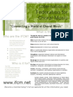 IFCM Flyer