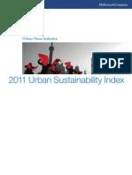 McKinsey 2011 Urban Sustainability Index