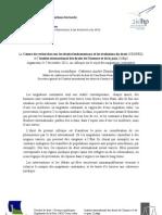 """Colloque """"Migrations contraintes"""" (programme) Université de Caen Basse-Normandie"""