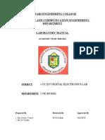 Lab Manual Exp 1t05