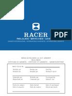 Libro Garantia Internacional Racer