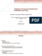 Biparametric investigation of the general standard map
