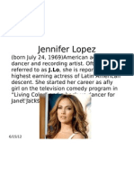 Jennifer Lopez Media