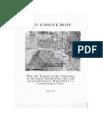 Lake Dimmick Brief