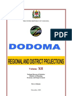 Dodoma Projections