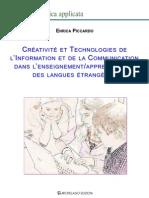 Enrica Piccardo, Créativité et Technologies de l'Information et de la Communication dans l'enseignement-apprentissage des langues étrangères- partie 1 et 2