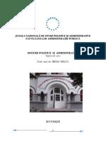 Suport de Curs Sisteme Politice Si Administrative