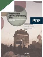 NewItem 119 Delhi Outdoor Advt Policy2008