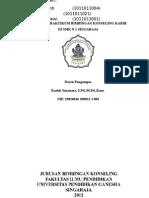 Laporan Praktikum BK Karir Di SMK N 1 Singaraja