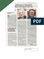 P.salen Contre L.faure - Le Progres-12.06.12