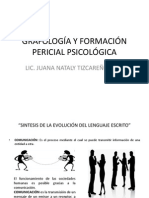 GRAFOLOGÍA Y FORMACIÓN PERICIAL PSICOLÓGICA