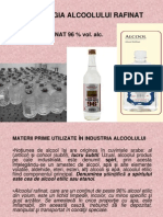 TEHNOLOGIA ALCOOLULUI RAFINAT