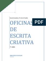 Oficinas de Escrita Criativa 2011-12