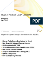 HSDPA Physical Layer Concepts