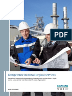 Competence in Metallurgical Services En