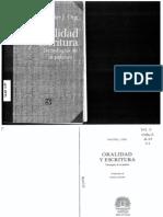 Walter J.ong. Oralidad y Escritura Cap.3-4