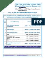 EMS 14001:2015 Templates