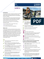 The Crown Estate Operational Guide 6 - Onshore work