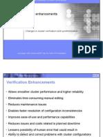 04 Cluster Verification Enhancements