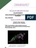 TEATRO DE LA SENSACION-CURSO DE DANZA CONTEMPORÁNEA- ROCIO GUZMÁN- JUNIO 012
