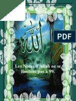 Les Noms d'Allah ne se limitent pas à 99