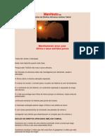 AMILCAR CABRAL_Manifesto Do Nucleo Dos Direitos Africanos