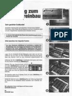 Gericom Silver Shadow Per4mance - Anleitung zum Speichereinbau