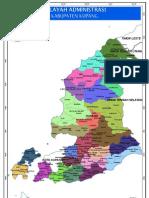 Peta Kabupaten Kupang
