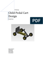 Child Pedal Cart Design