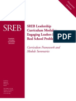 SREB Leadership Curriculum Modules