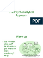 the_psychoanalytical_approach