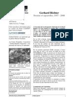 Communiqué de Presse  Exposition Gerhard Richter au Louvre