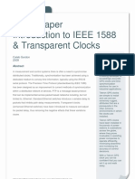 Transparent Clock Whitepaper