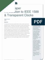 Transparent Clock Whitepaper