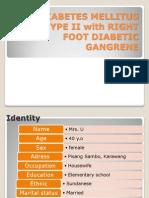 DM Type 2 With Gangrene