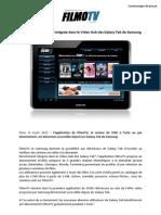 FilmoTV - Hub Galaxy Tab