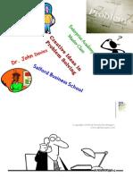 Creativity in Problem Solving 2010-11