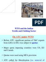 Lecture 5 - WTO and Indian Textile Sector