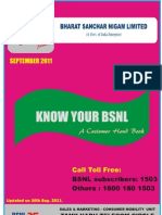 Know Your BSNL[Mobile]-A Customer Handbook