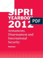 SIPRI Yearbook 2012 Summary