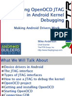 Using OpenOCD JTAG in Android Kernel Debugging