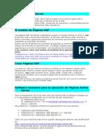 Páginas Active Server
