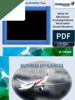 Malaysia Airline Strategic Plan