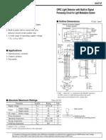 Breakbeam Sensor Sharp IS471F