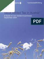 Austria - VAT Guide Englisch