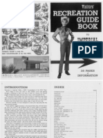 IV Visitors Recreation Guide Book