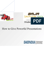 Give Powerful Ppt
