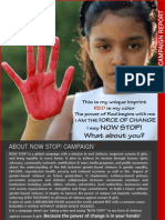 Now Stop Campaign Report