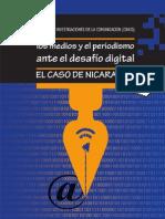 Los medios y el periodismo ante el desafío digital. El caso de Nicaragua